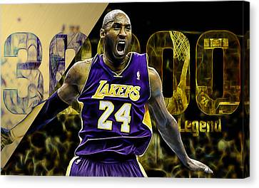Kobe Bryant Collection Canvas Print