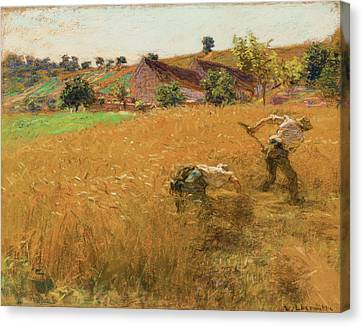 La Moisson Canvas Print