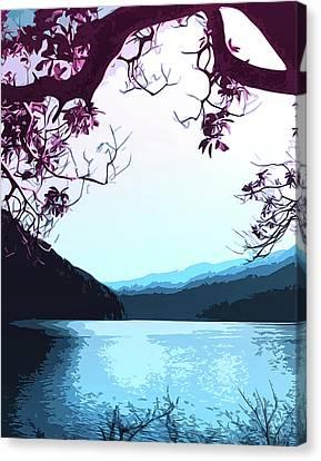 Lake Crescent - Landscapes Of America Canvas Print