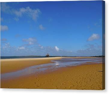 Exploramum Canvas Print - Lamu Island - Wooden Fishing Dhow - Colour by Exploramum Exploramum