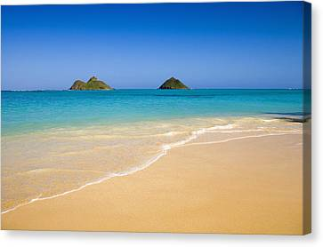 Lanikai, Mokulua Islands Canvas Print