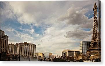 Las Vegas Canvas Print by Patrick  Flynn