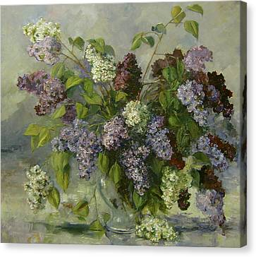 Lilacs Canvas Print by Tigran Ghulyan