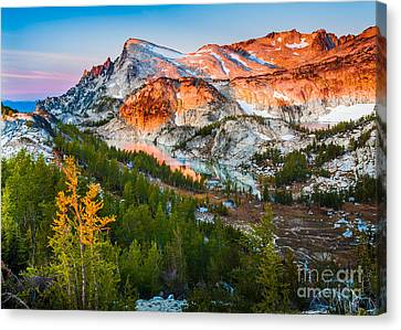 Little Annapurna Canvas Print by Inge Johnsson
