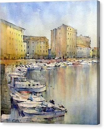 Livorno - Italy Canvas Print by Natalia Eremeyeva Duarte