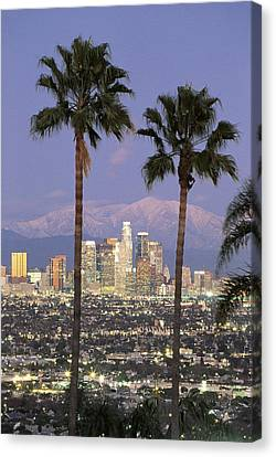 Los Angeles Ca Canvas Print by Panoramic Images