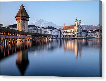 Lucerne - Switzerland Canvas Print