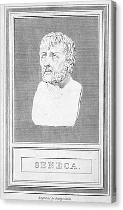 Lucius Annaeus Seneca Canvas Print