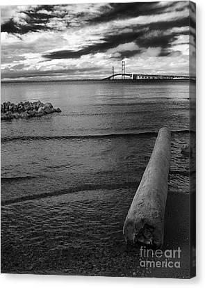 Mackinac Bridge - Infrared 01 Canvas Print