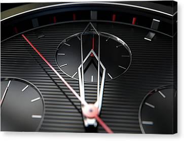 Chronometer Canvas Print - Macro Watch Closeup by Allan Swart