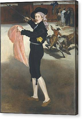 Public Holiday Canvas Print - Mademoiselle V. . . In The Costume Of An Espada by edouard Manet