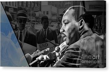 Martin Luther King Collection Canvas Print