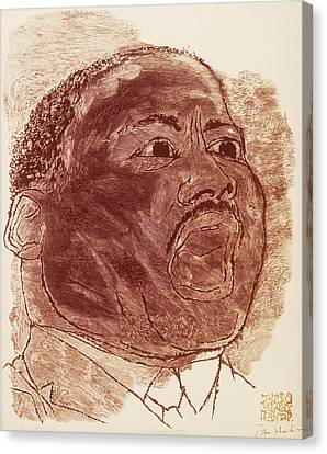 Martin Luther King, Jr Canvas Print by Granger