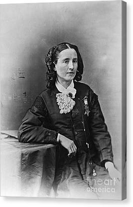 Mary Edwards Walker Canvas Print by Granger
