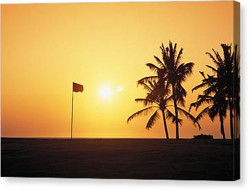 Mauna Kea Beach Resort Canvas Print