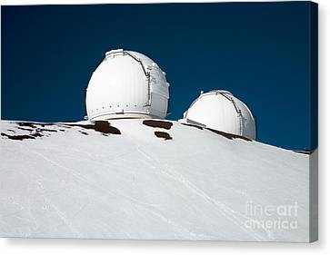 Mauna Kea Observatory Canvas Print by Peter French - Printscapes