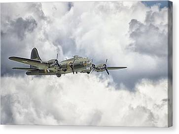 Oldies Canvas Print - Memphis Belle by Martin Newman