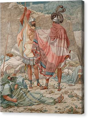 Mercy - David Spareth Saul's Life Canvas Print by Richard Dadd