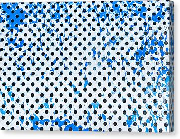 Grate Canvas Print - Metal Surface by Tom Gowanlock