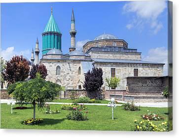 Mevlana Museum Konya - Turkey Canvas Print by Joana Kruse
