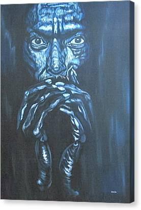 Miles Canvas Print by Shahid Muqaddim