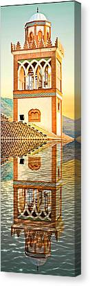 Minaret Canvas Print by Tom Gowanlock