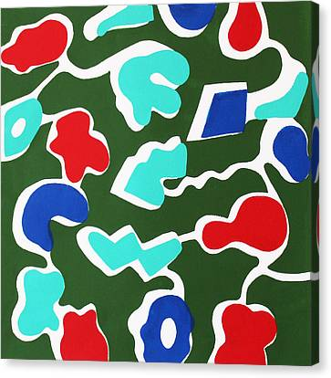 Mini Golf Canvas Print by Toni Silber-Delerive