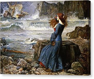 Miranda - The Tempest Canvas Print