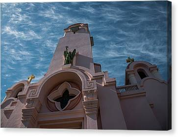 Mission San Rafael Arcangel Canvas Print by Richard White