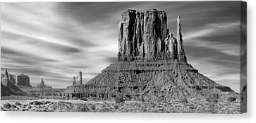 Navajo Nation Canvas Print - Monument Valley by Mike McGlothlen