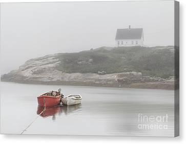 Moody Harbor Canvas Print