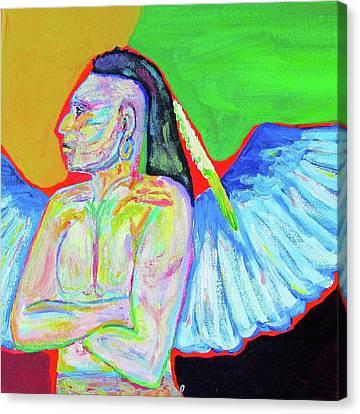 Morning Meditation Canvas Print by Brenda Pressnall