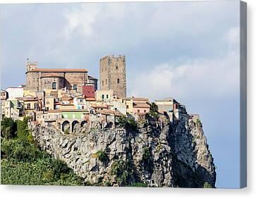 Motta Sant'anastasia - Sicily Canvas Print by Joana Kruse