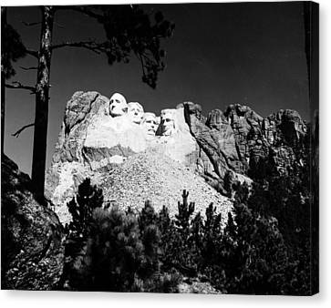 Mount Rushmore Canvas Print by Granger