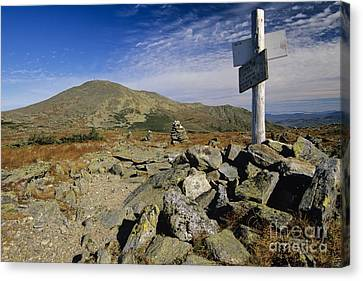 Mount Washington - White Mountains New Hampshire Usa Canvas Print by Erin Paul Donovan