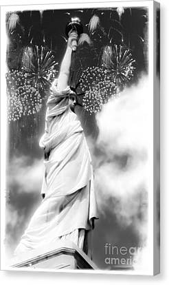 My Lady Liberty Canvas Print by Janie Johnson