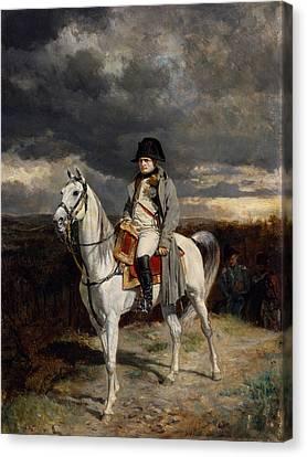 World Leader Canvas Print - Napoleon Bonaparte On Horseback by War Is Hell Store