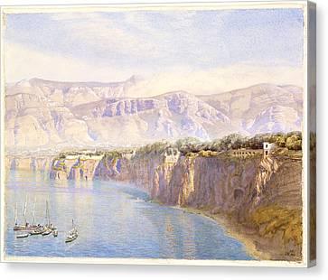 Near Sorrento Canvas Print by John Brett