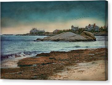 Newport State Of Mind Canvas Print by Robin-Lee Vieira