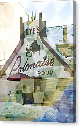 Nye's Polonaise Room Canvas Print by Susan Stone