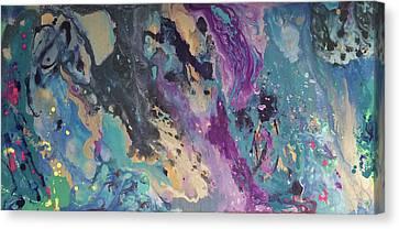 Ocean Floor Canvas Print by Margalit Romano