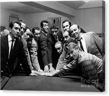 Ocean's 11 Promotional Photo Canvas Print by The Titanic Project