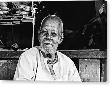 Old Age Canvas Print by Bobby Mandal