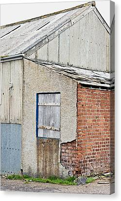 Old Barn Canvas Print by Tom Gowanlock
