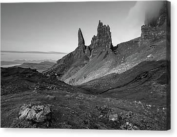 Canvas Print featuring the photograph Old Man Of Storr by Davorin Mance