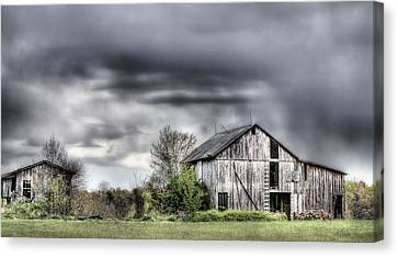 Ominous  Canvas Print by JC Findley