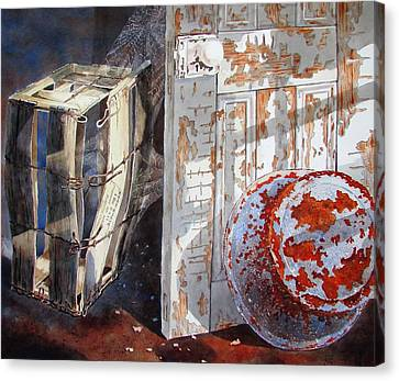 Once Canvas Print by Tony Caviston