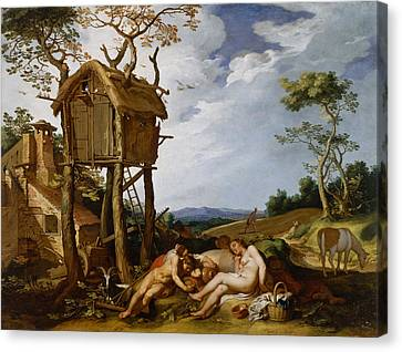 Parable Canvas Print - Parable Of The Wheat And The Tares by Mountain Dreams