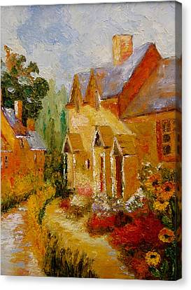 Pathway Home Canvas Print by Marie Hamby