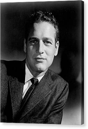 Paul Newman Canvas Print by Everett